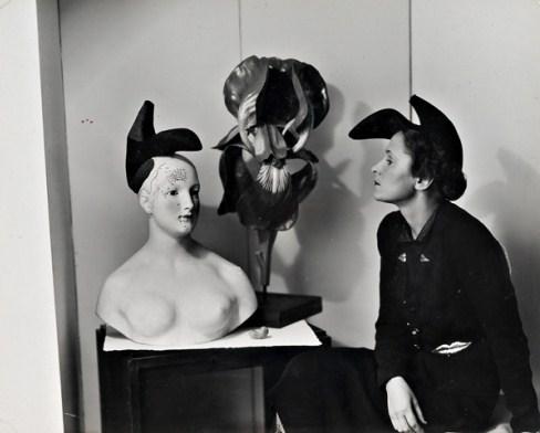 Elsa Schiaparelli shoe-hat