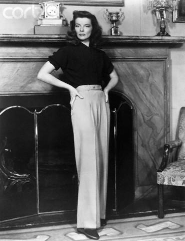 Katharine Hepburn in
