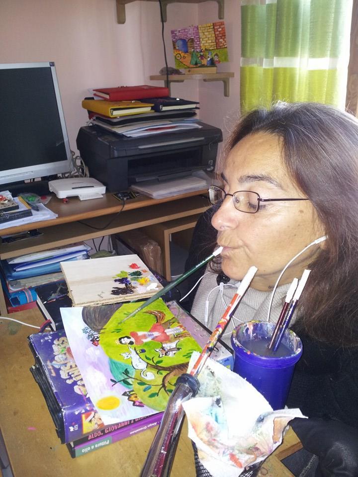 Laura Boerci, scrittrice, autrice teatrale e pittrice